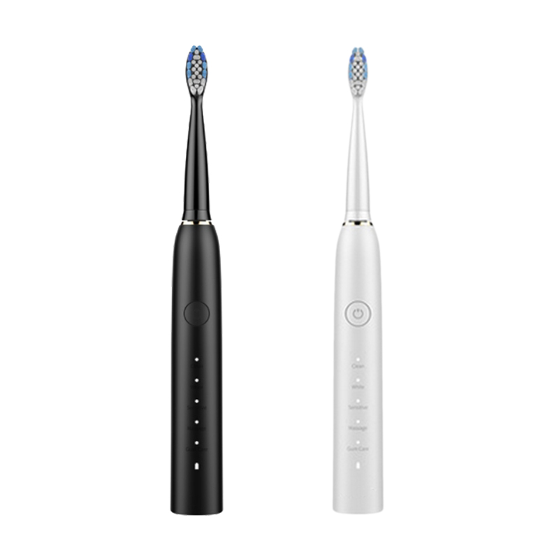 Ultrasonic Couple and Kids Electric Toothbrush with Coaching Pressure Sensor and Timer for Kids 6+