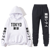 2020 Japanese men and women suit multicolor hoodie couple sweatshirt youth fashion TOKYO clothing