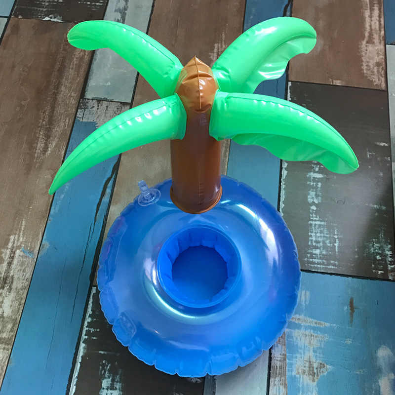 מיני מים תחתיות boia פלמינגו צף מתנפח כוס מחזיק שחייה בריכת לשתות לצוף צעצוע כוס stand מים