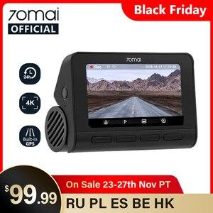 70mai Dash Cam 4K A800 Built-in GPS ADAS 70mai A800 4K Camera UHD Cinema-quality Car DVR 24H Parking Monitior SONY IMX415 140FOV