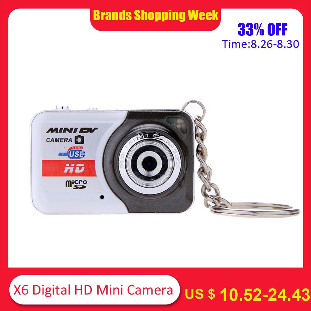Mini Camera Camcorder Shooting-Recording Digital Portable Ultra-Hd X6 PC DV 32GB Tf-Card