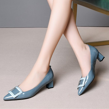 pinkycolor genuine leather high heels women shoes high quality women high heel shoes office ladies shoes women heels