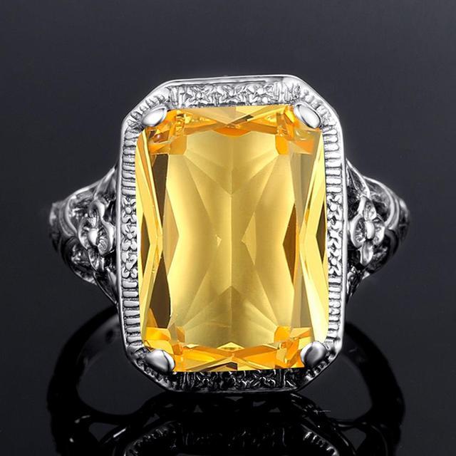 кольца для женщин серебряные вечерние обручальное кольцо изысканной фотография