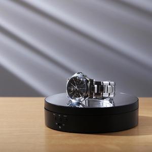 Image 5 - Fotografía 360 grados redondo rotación automática remoto automáticamente tocadiscos joyería pantalla soporte base para foto estudio de disparo accesorios de fotografía para estudio de fotos Caja joyería pantalla Base