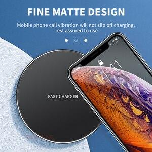 Image 5 - Szybka ładowarka bezprzewodowa 15W QI szybka ładowarka bezprzewodowa do Samsung S10 S9 10W Tpye C QC 3.0 dla iPhone XS XR X 8 Huawei P30 Pro Xiao mi 9