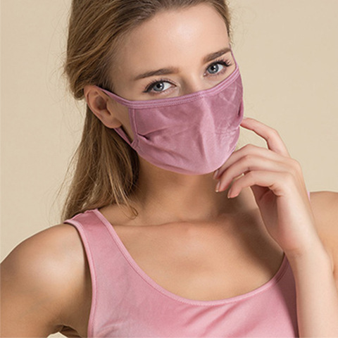Summer Mulberry Real Silk Mask Breathable Sun-resistant Mask Double Layer Silk Knit Easy To Cleaning Thin Face Mask