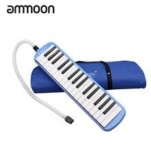 Прочный 32 клавиши фортепиано мелодика с сумкой для переноски музыкальный инструмент для любителей музыки начинающих подарок изысканное мастерство