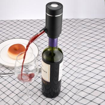 Elektryczne karafki szybkie inteligentne wino elektryczne karafki akcesoria barowe bary domowe tanie i dobre opinie XINCHEN CN (pochodzenie) Z tworzywa sztucznego 5-10 cm