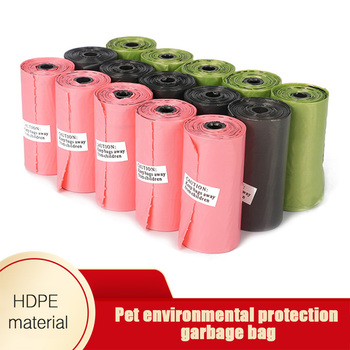 Dog Poop Bags Biodegradable Pet Dog Poop Bag Zero Waste Dog Pooper Paw Earth-Friendly Dispenser Pets Products For Dogs image