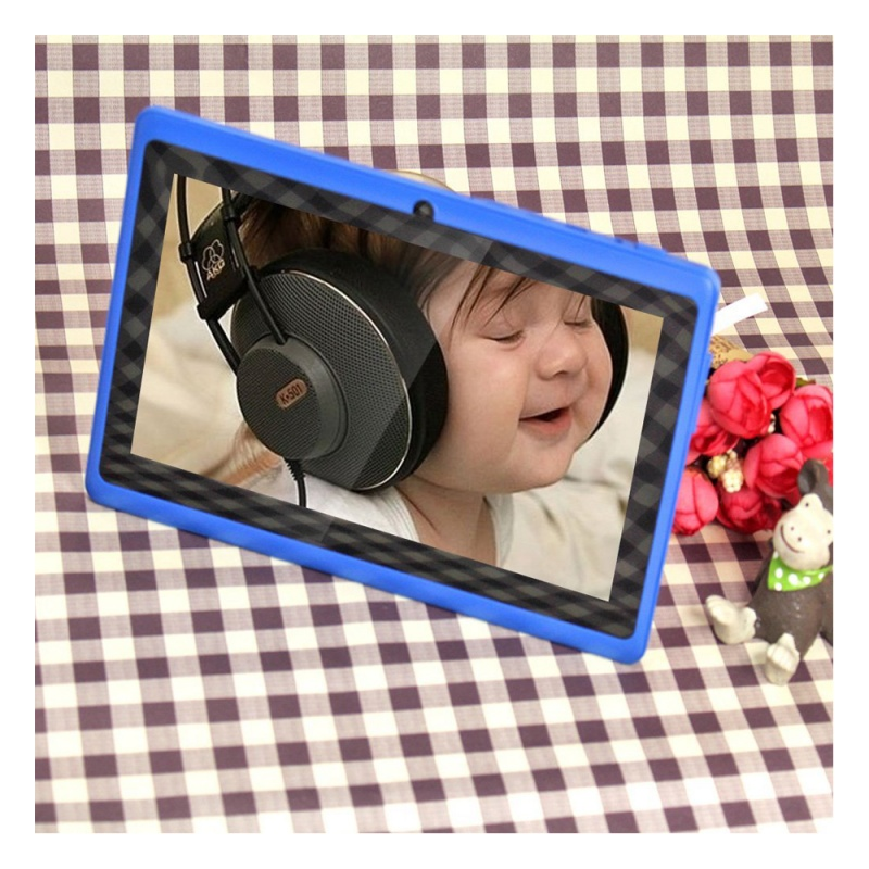 7 inch Android Google Tablet PC 4.2.2 8GB 512MB DDR3 Quad-Core Camera Capacitive Touch Screen 1.5GHz WiFi blue 3