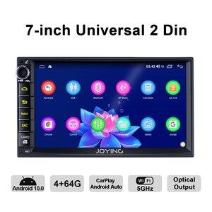 Image 3 - 7 inch Car Radio 2din Android 10 Universal Head Unit With Screen Multimedia Navigator 4GB+64GB Autoradio bluetooth 4G Carplay