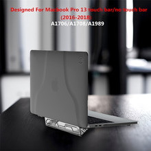 Laptop Cover For Macbook Pro 13 Case Adjustable Stand Holder Apple inch A1706 A1708 A1989