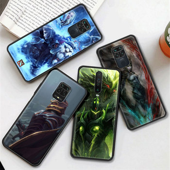 Dota 2 Game Phone Case for Xiaomi Redmi Note 9S 8 8T 9 Pro 6 7 K30 Pro 6A 7A 8A 9A 9C Silicon Black Shell Cover 2