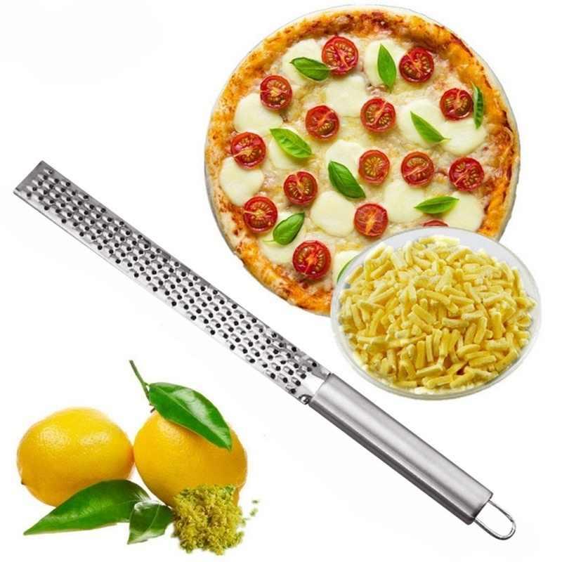 新しいステンレスレモンチーズ野菜zesterおろし金スライサーキッチンツールガジェットフルーツ野菜チョッパー