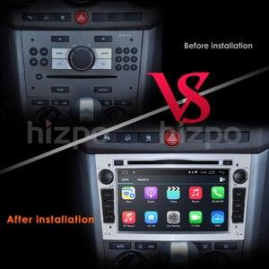 Image 4 - Hizpo رباعية النواة 2 الدين RAM:2GB الروبوت 10.0 جهاز تشغيل أقراص دي في دي بالسيارة لاعب لأوبل أسترا H فيكترا كورسا زافيرا B C G سيارة مذياع GPS ستيريو 4 3gwifi