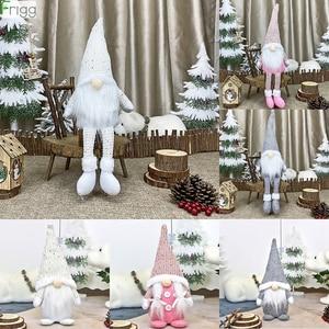 Christmas Faceless Gnome Santa Xmas Tree Hanging Ornament Doll Decoration For Home Navidad Pendant Gifts Happy New Year 2021