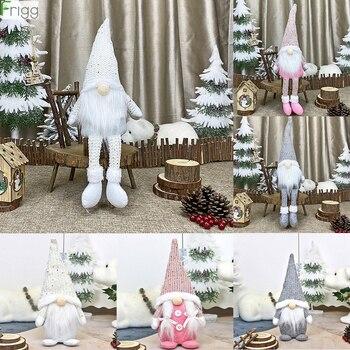 Christmas Faceless Gnome Santa Xmas Tree Hanging Ornament Doll Decoration For Home Navidad Pendant Gifts Happy New Year 2021 christmas santa faceless doll merry christmas ornament christmas decorations for home xmas gifts navidad happy new year 2021