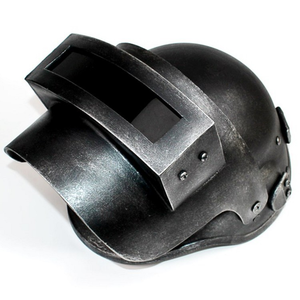Image 4 - PUBG Cosplay Chicken Dinner Level 3 Helmet Playerunknowns Battlegrounds Third class Head Cap Face Cosplay Role Play Game Props
