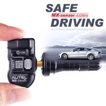AUTEL TPMS Sensor 433Mhz 적응 TS501 TS508 프로그래밍 가능한 자동차 자동차 액세서리 센서