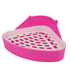 Corner Triangle Small Animal Hamster Easy Clean Rabbit Cleaning Supplies Durable Training Portable Dog Pet Toilet Litter Tray(China)
