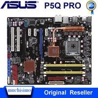 LGA775 ASUS P5Q PRO Desktop Motherboard P45 Socket LGA 775 DDR2 Used Mainboard Intel P45 Mainboard