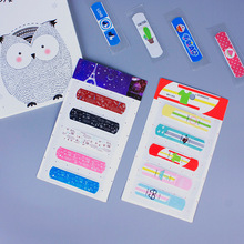 50Pcs Disposableกันน้ำกาวผ้าพันแผลBreathable First Aid Kitการแพทย์Hemostaticสติกเกอร์สำหรับเด็กเด็กผู้ใหญ่Care
