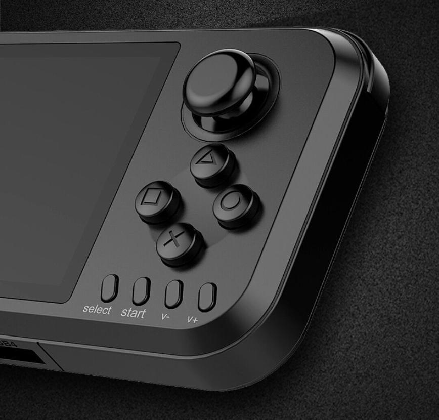 Новый ретро игровой консоли 4.3 дюймов 16 ГБ Linu переносная игровая приставка с джойстиком поддержка mp4 для PSP эмулятор GBA РЭШ Аркада