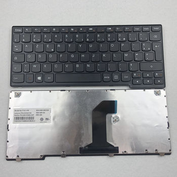 French Laptop Keyboard For Lenovo IdeaPad Yoga 11 11-TTH With Black Frame FR Azerty Layout laptop keyboard for sony svs1512z9e svs1512z9r svs1513a4e svs1513b4e black without frame latin america la