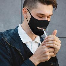 Mascarilla facial protectora lavable para hombre y mujer, máscara con cremallera, reutilizable, fácil de usar, con cremallera, respirador abierto
