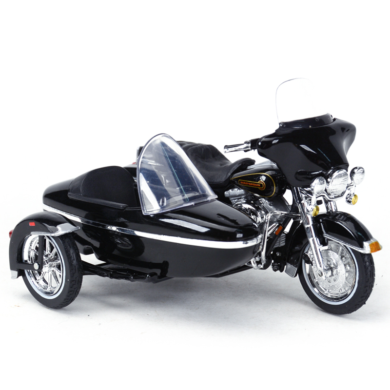 Maisto 1:18 1998 FLHT Electra Glide Standard Motorcycle Sidecar Diecast Alloy Motorcycle Model Toy