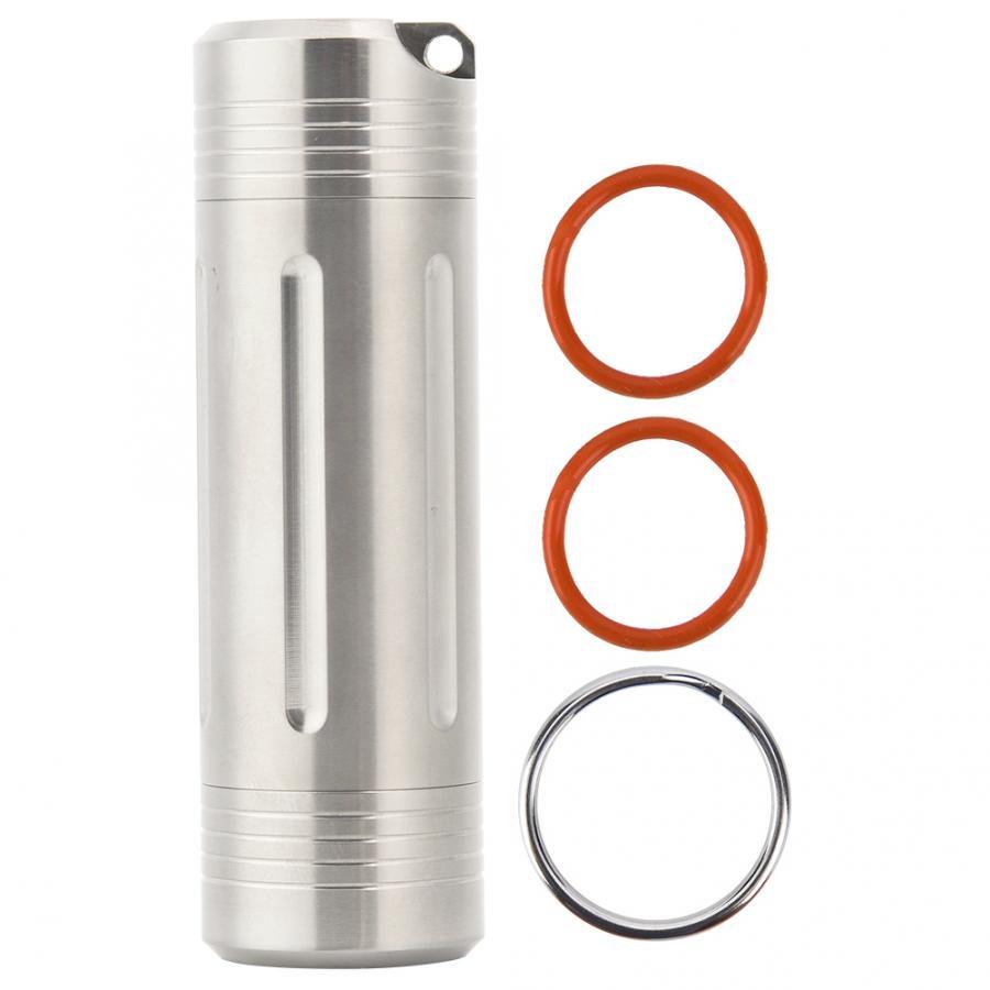 Messing+Titan-Aluminium-Legierung Outdoor Tools Portable EDC Zahnstocher-Halter