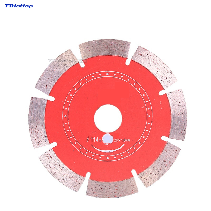 Slicing Circular Saw For Marble Machine Angle Grinder Cutting 105*20*1.8mm 110*20*1.8mm 114*20*1.8mm Marble Granite Concrete Etc