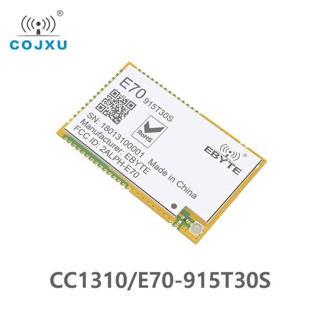 E70 915T30S CC1310 915MHz 1 inalámbrico Módulo de radiofrecuencia CC1310 serie transceptor SMD 915M para