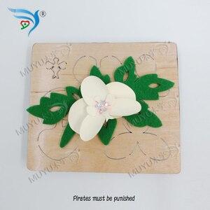 Image 4 - פרח חיתוך מת & עץ למות scrapbook לחתוך שמיים תואם עם רוב מכונות