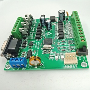 Image 5 - PLC FX2N 10MT STM32 MCU 6 อินพุต 4 เอาท์พุททรานซิสเตอร์ 2 โมดูล 0 10V Built inแบตเตอรี่RTCตัวควบคุมมอเตอร์DC 24V