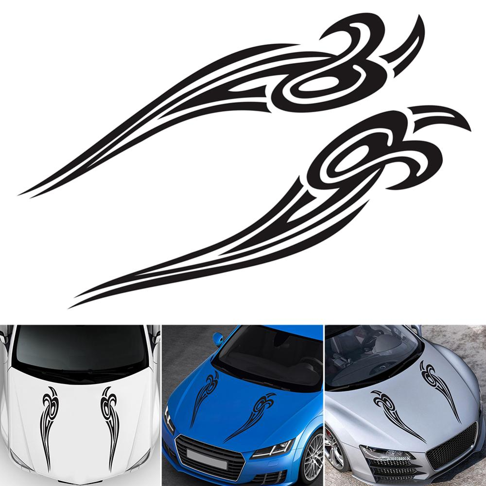 SET OF 2 SIDE MIRROR TRIBAL EAGLE GRAPHIC VINYL DECAL CAR TRUCK STICKER