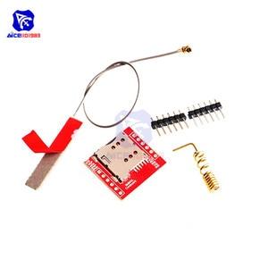 Image 2 - Diymore SIM800L GPRS GSM מודול Core Quad band TTL יציאה טורית IPX ממשק PCB אנטנה מיקרו כרטיס ה SIM עבור arduino חכם טלפון