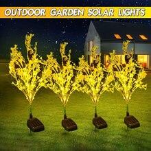 Цветы светодиодный или под открытым небом солнечной энергии