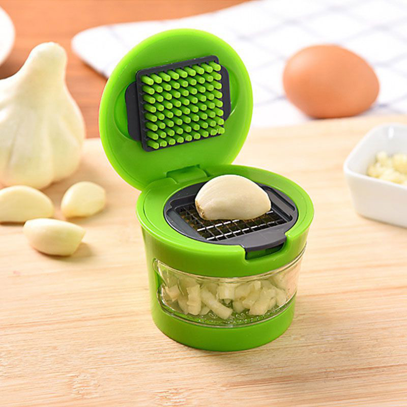 Portable ABS Stainless Steel Garlic Grater Multifunction Ginger Garlic Press Hand Presser Tool Kitchen Gadgets Home Accessories in Graters from Home Garden