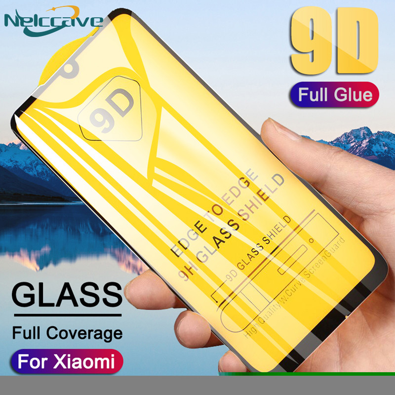 10 Pieces/Lot 9D Curved Full Coverage Tempered Glass For Xiaomi Redmi 7 Pro 7A 6 6A 5 Plus 5A 4X 4A Screen Protector Cover Film