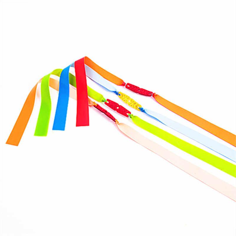 1pc Fionde Elastico Piatto Spessori 0.65 millimetri Vari Colori Catapulta Lattice Naturale Piatto Elastico Resistente per le Riprese
