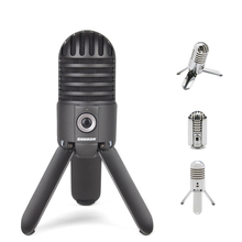 Original Samson Meteor Mic USB Studio Recording Condenser Microphone for Computer Home Skype iChat Voice Recognition