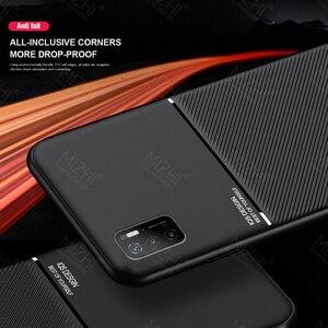Image 5 - حافظة ممغنطة للسيارة لهواتف شاومي بوكو m3 برو 5G حافظة جلدية الملمس سيليكون غطاء مقاوم للصدمات لبوكوفون m3 متر 3 برو كوك