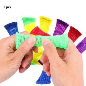 Сенсорные игрушки Marble s Ball, аутистические антистрессовые терапевтические игрушки ADHD, EDC для снятия стресса, игрушки ручной работы, плетеная ...