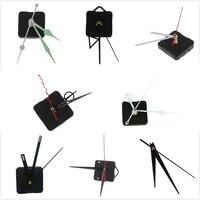 1 conjunto preto criativo diy relógio de parede relógio mãos reparação kit oco coração textura metal retro movimento relógio de parede acessórios