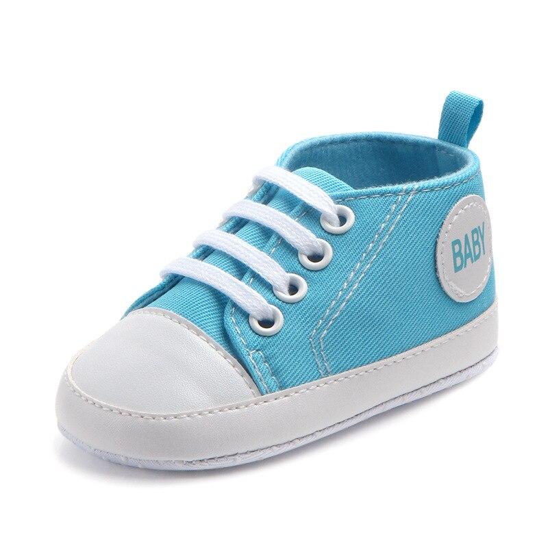 Chaussures bébé Garçon Fille Solide Sneaker Coton Doux Semelle Antidérapante Nouveau-Né Infantile Premiers Marcheurs Bambin décontracté Sport Chaussures de Berceau 42