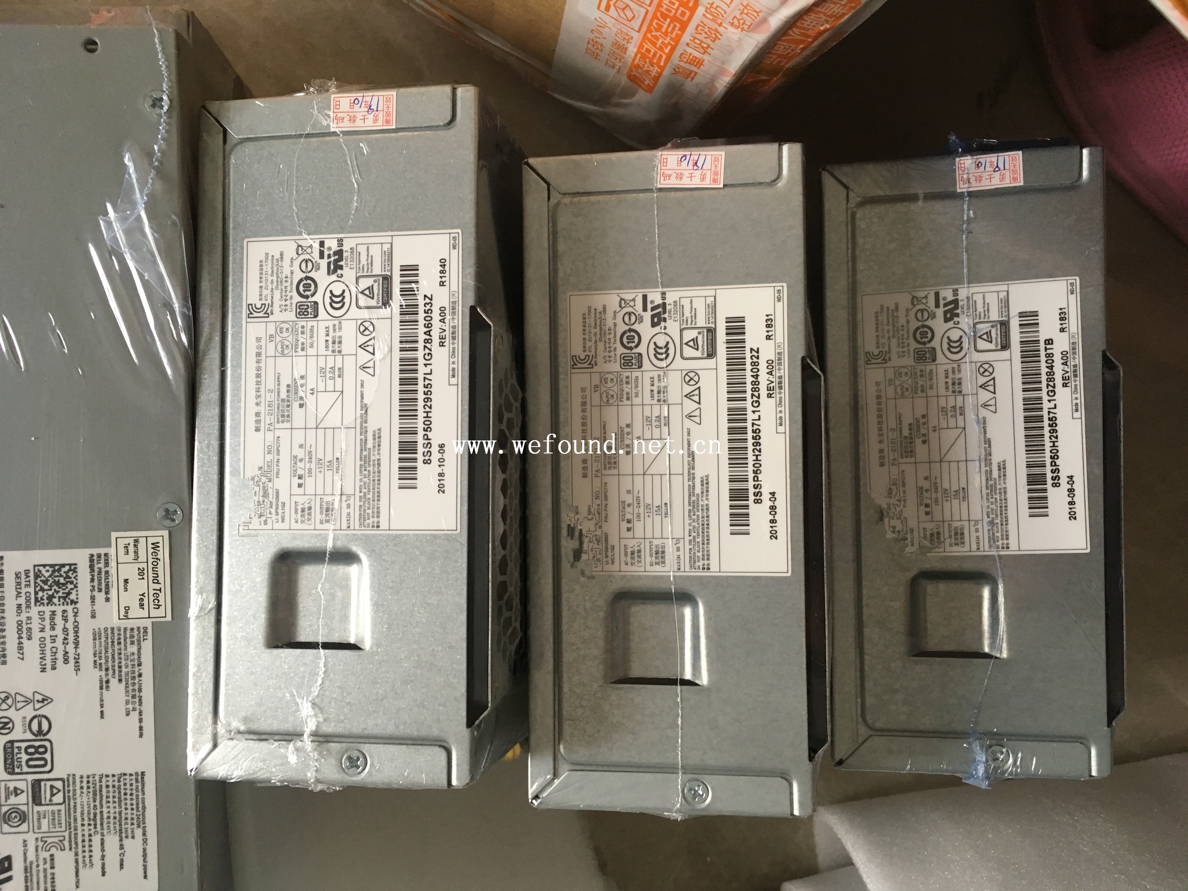100% Working Server Power Supply For 300s S500 HK280-72PP PA-2181-2 PCG010 FSP180-20TGBAB Fully Tested