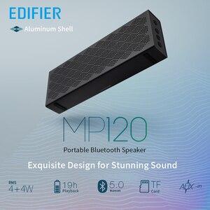 Image 2 - EDIFIER MP120 altoparlante bluetooth bluetooth 5.0 supporto TF Card ingresso AUX tecnologia CNC doppi altoparlanti full range