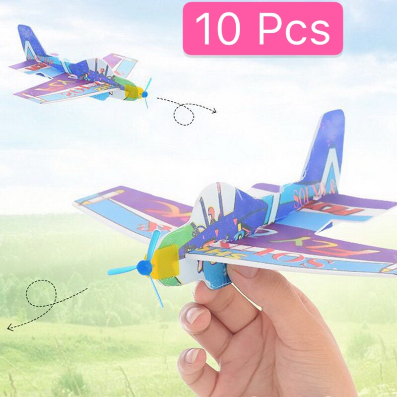 20CM Fashion Hand Throw Flying Glider Planes Foam Outdoor Toys For Children Funny Kid Gift Toy Aircraft Model Creative DIY