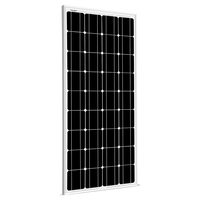 SUNGOLDPOWER 12V Solar Panel 100W Monocrystalline Solar Module Grade A Solar Cell Photovoltaic Panel Battery Charger for Outdoor